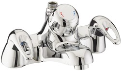 Bristan Java Bath Filler Faucet With Thermostatic Shower (Chrome).
