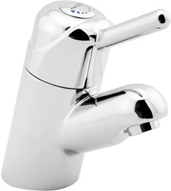 Deva Thermostatic TMV3 Thermostatic Mono Basin Mixer Faucet (Chrome).