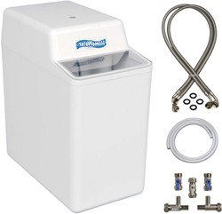 HomeWater 100 Water Softener (Electric Timer) With 15mm Installation Kit.