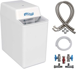 HomeWater 100 Water Softener (Electric Timer) With 22mm Installation Kit.