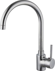 Hydra Chloe Kitchen Faucet With Swivel Spout (Chrome).
