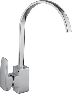 Hydra Adele Kitchen Faucet With Single Lever Control (Chrome).