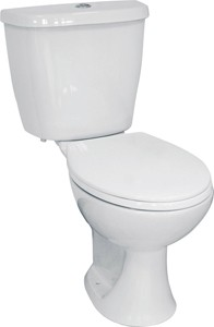Hydra Modern Toilet With Dual Flush Cistern & Seat.