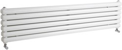 Crown Radiators Peony Double Radiator. 5705 BTU (White). 1500mm Wide.