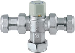 Thermostatic TMV3 Thermostatic Under Bath Blending Valve (22mm).