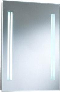 Hudson Reed Mirrors Adriana Backlit Bathroom Mirror. Size 500x700mm.