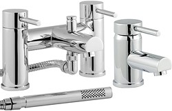 Ultra Quest Basin & Bath Shower Mixer Faucet Set (Free Shower Kit).
