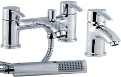 Ultra Series 170 Basin & Bath Shower Mixer Faucet Set (Free Shower Kit).