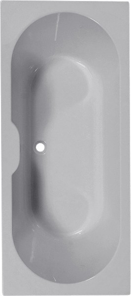 Additional image for Double Ended Bath.  1700x700mm.
