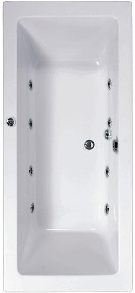 Additional image for Aquamaxx Whirlpool Bath. 8 Jets. 1800x800mm.