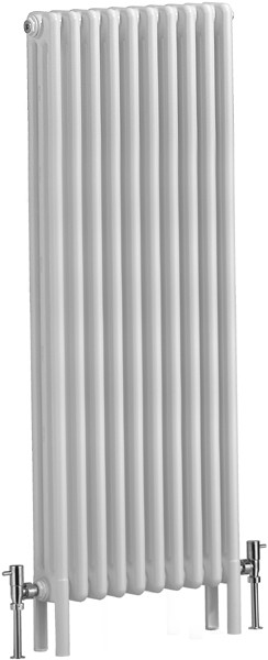 Additional image for Nero 3 Electric Thermo Radiator (White). 490x1500mm.