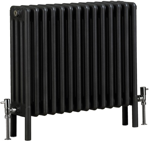 Additional image for Nero 4 Electric Thermo Radiator (Gun Metal). 670x600mm.