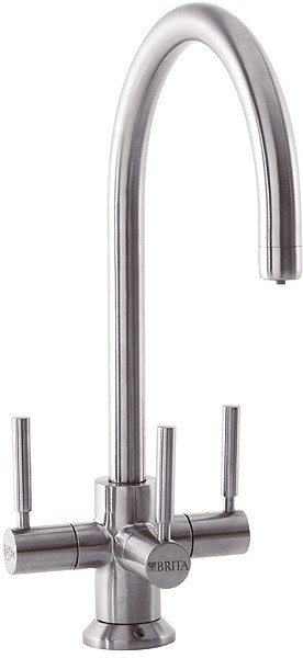 Additional image for Ceto Modern Water Filter Faucet (Brushed Nickel).