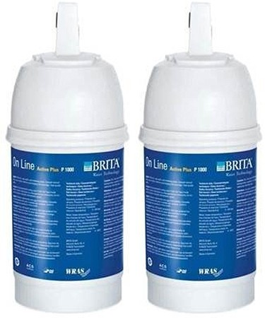 Additional image for 2 x Brita P1000 Filter Cartridge.