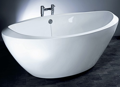 Additional image for Freestanding Bath With Surround Panel.  Size 1800x800x630mm.