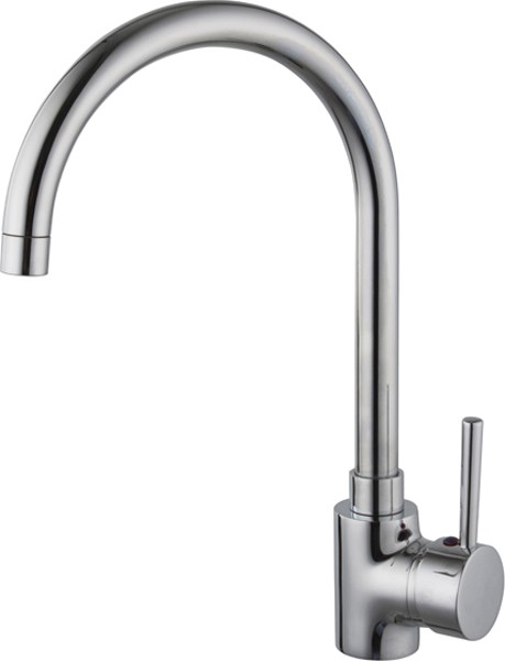 Additional image for Chloe Kitchen Faucet With Swivel Spout (Chrome).