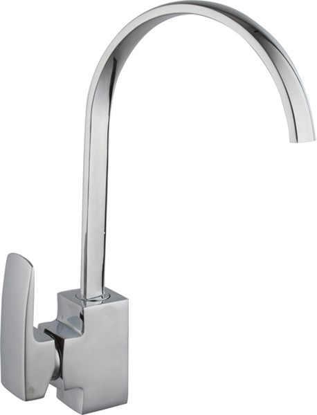 Additional image for Adele Kitchen Faucet With Single Lever Control (Chrome).