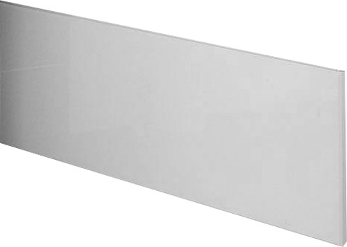 Additional image for 1800mm Side Bath Panel (White, Solid MDF).