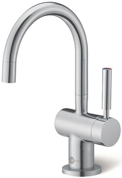 Additional image for Steaming Hot & Cold Filtered Kitchen Faucet (Brushed Steel).