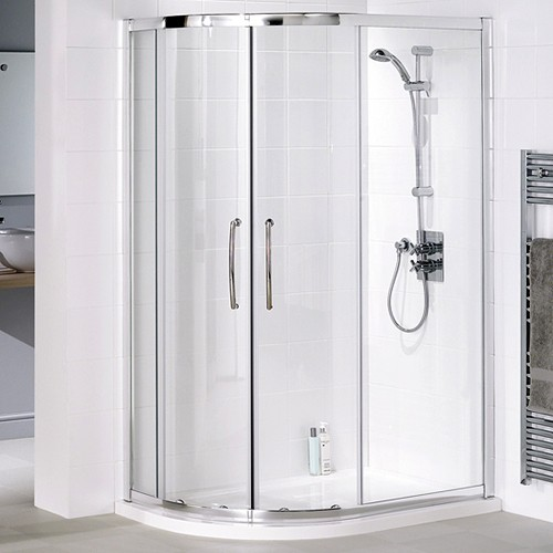 Additional image for Left Hand 1200x800 Offset Quadrant Shower Enclosure & Tray.