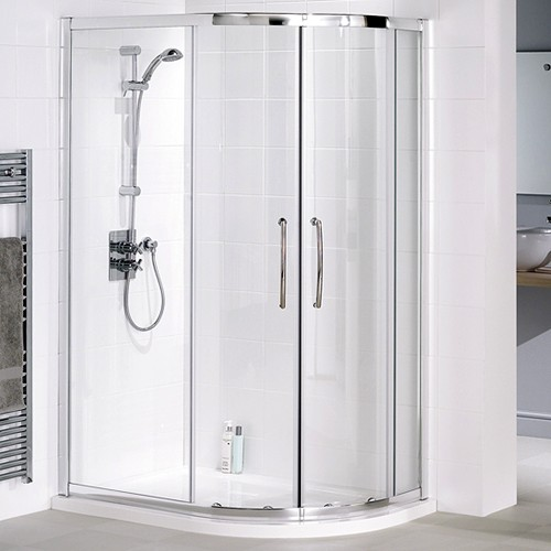 Additional image for Right Hand 900x800 Offset Quadrant Shower Enclosure & Tray.