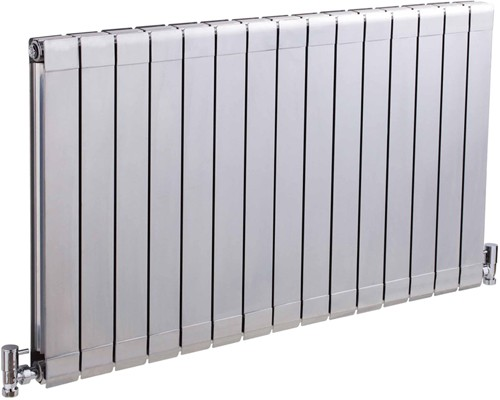 Additional image for Myrtle Horizontal Radiator (Silver). 984x600mm. 5728 BTU.