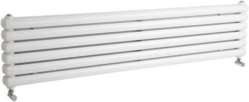 Additional image for Peony Double Radiator. 5705 BTU (White). 1500mm Wide.