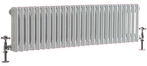 Additional image for Regency 2 Column Radiator (White). 1055x400mm. 3104 BTU.