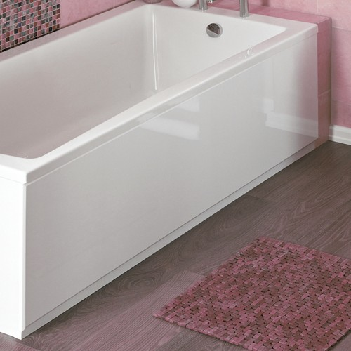 Additional image for 1700mm Side Bath Panel (White, Acrylic).