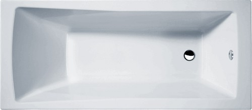 Additional image for Linton Single Ended Acrylic Bath & Panels. 1700x700mm