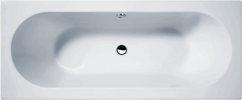 Additional image for Otley Double Ended Acrylic Bath & Panels. 1700x700mm.