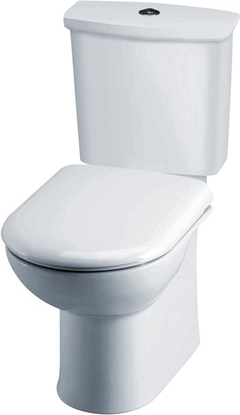 Additional image for Linton Toilet With Dual Push Flush Cistern & Seat.