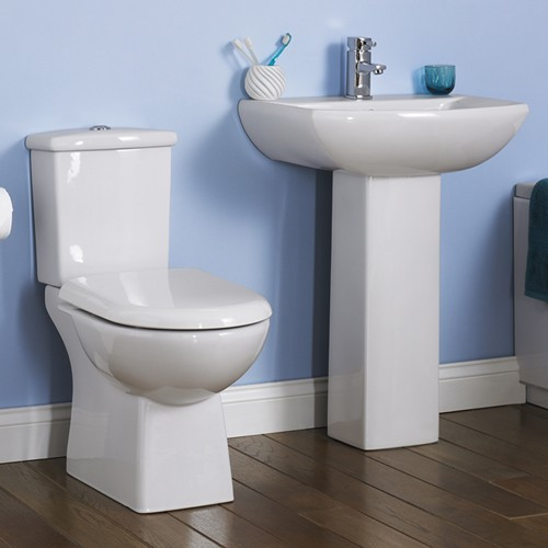Additional image for Asselby 4 Piece Bathroom Suite With Toilet & 600mm Basin.