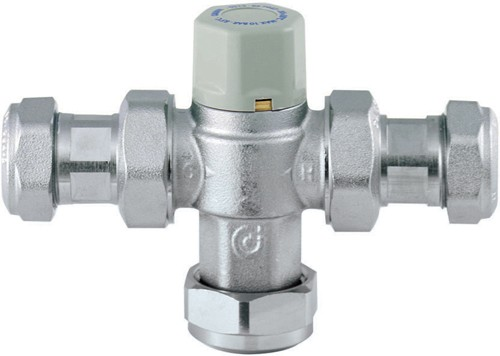 Additional image for TMV3 Thermostatic Under Bath Blending Valve (22mm).