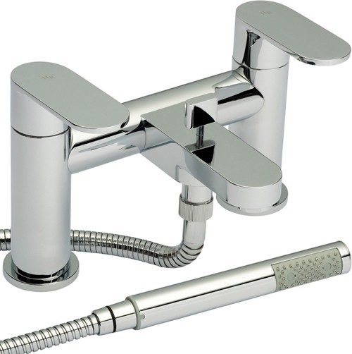 Additional image for Bath Shower Mixer Faucet With Shower Kit (Chrome).