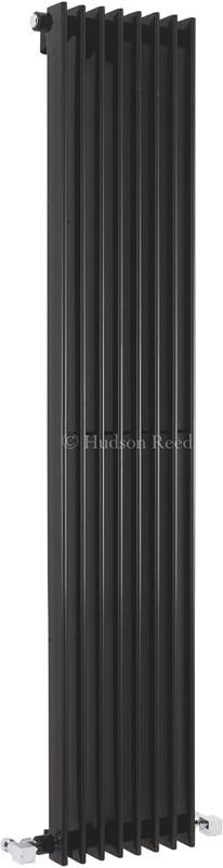 Additional image for Fin Radiator (Black). 304x1500mm. 4367 BTU.
