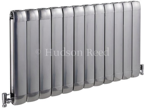 Additional image for Nirvana Designer Radiator (Silver). 1015x600mm.