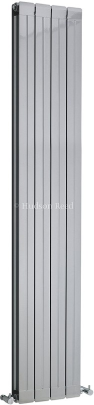 Additional image for Rapture Radiator (Silver). 318x1800mm. 5951 BTU.