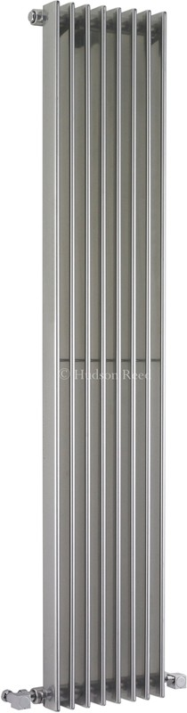 Additional image for Fin Radiator (Silver). 304x1500mm. 4367 BTU.