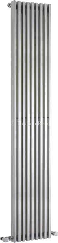 Additional image for Parallel Designer Radiator (Silver). 342x1800mm.