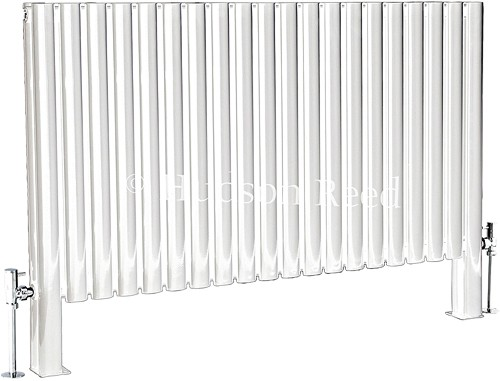 Additional image for Revive Floor Mounted Radiator (White). 1180x600.