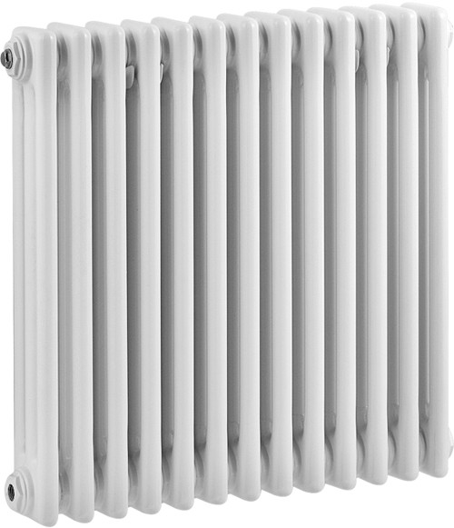 Additional image for 3 Column Radiator (White). 606x600mm.