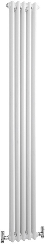 Additional image for 2 Column Vertical Radiator (White). 291x1800mm.
