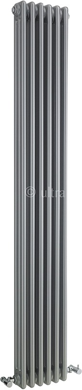 Additional image for Triple Column Radiator (Silver). 291x1800mm.