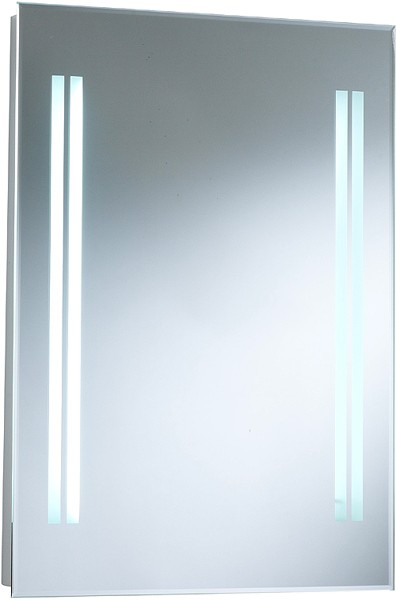 Additional image for Adriana Backlit Bathroom Mirror. Size 500x700mm.