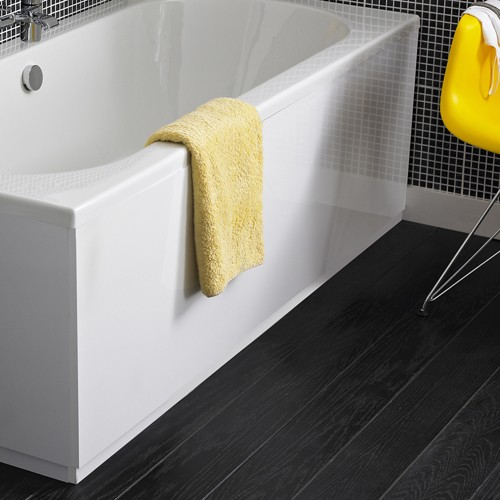Additional image for 1700mm Side Bath Panel (White, MDF).
