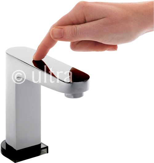 Additional image for Touch Sensor Basin Faucet (Battery Powered).