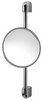 Geesa Hotel Height adjustable Mirror. 200mm round.