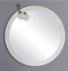 Reflections Bromley illuminated bathroom mirror.  Size 800mm diameter.
