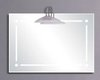 Reflections Hertford illuminated bathroom mirror.  Size 700x1000mm.